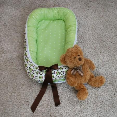 Babynest grön uggla